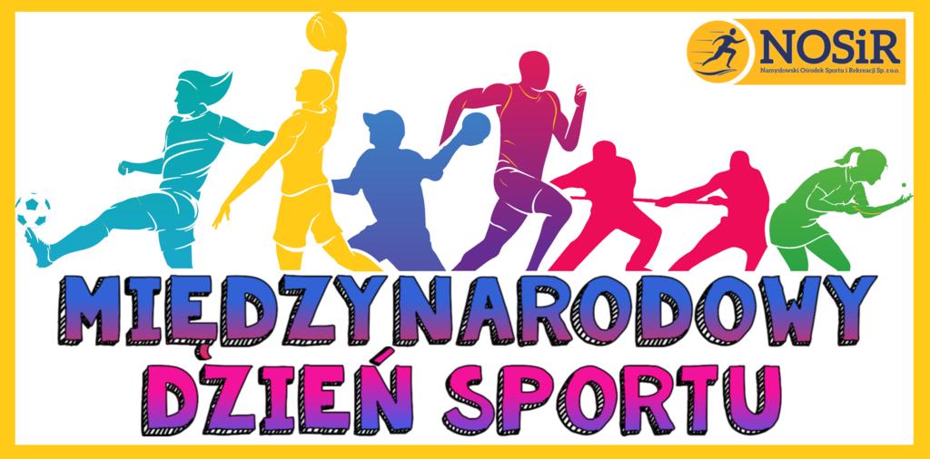 logo Międzynarodowy dzień sportu