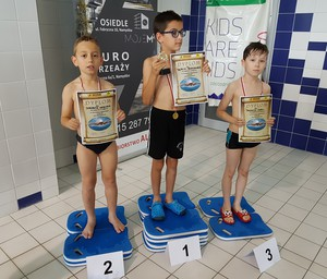Galeria zawody pływackie