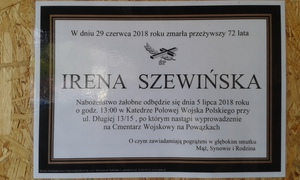 Galeria Pożegnanie Ireny Szewińską