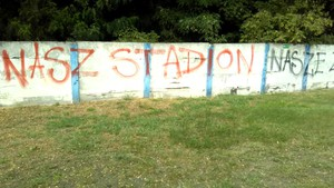Galeria Stadion dewastacja
